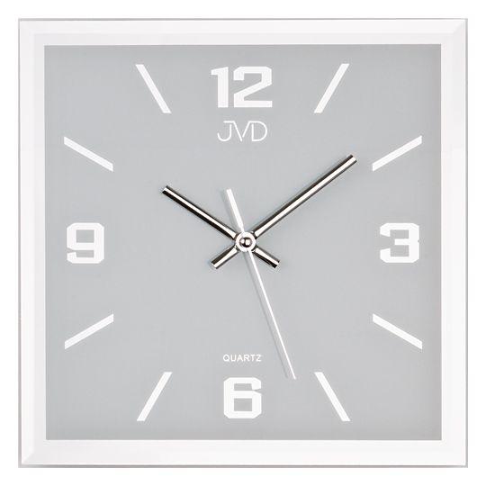 Skleněné nástěnné hodiny JVD N26113.2
