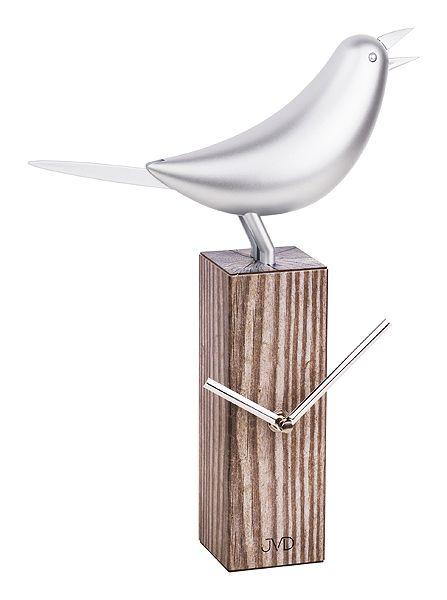 Dřevěné moderní stolní nástěnné/stolní hodiny JVD HB04 POŠTOVNÉ ZDARMA! (POŠTOVNÉ ZDARMA!!)