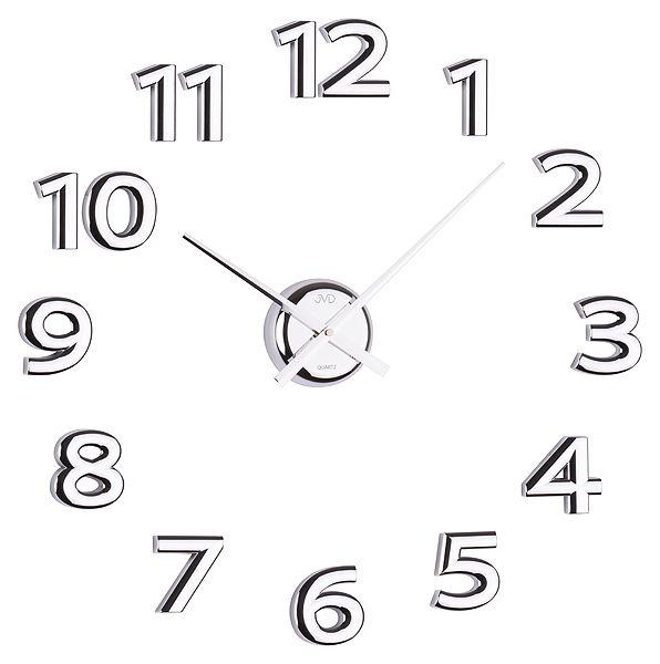 Stříbrné nalepovací hodiny JVD HB12 POŠTOVNÉ ZDARMA!