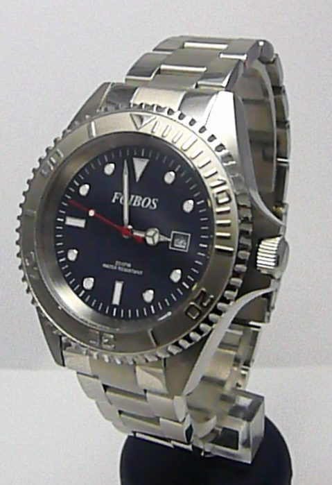 Mohutné vodotěsné potápěčské hodinky Foibos 3545 - 20ATM (POŠTOVNÉ ZDARMA!!)