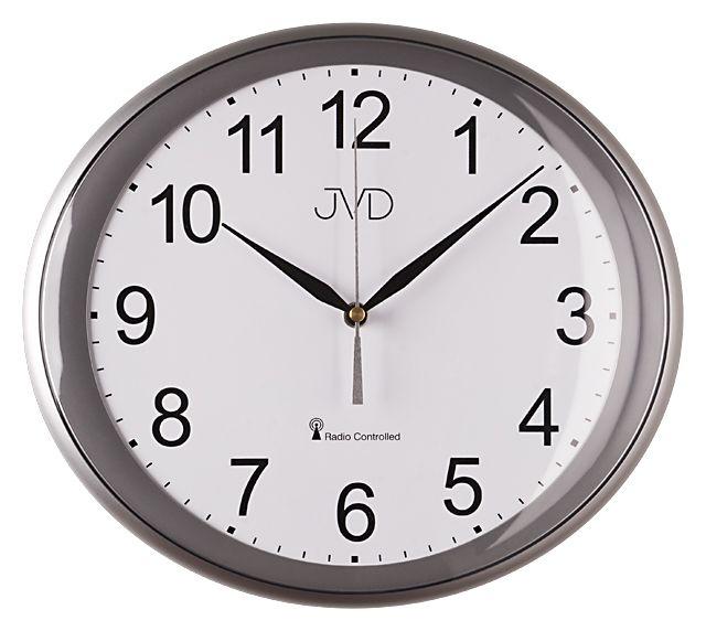 Moderní luxusní rádiem řízené hodiny JVD RH64.3