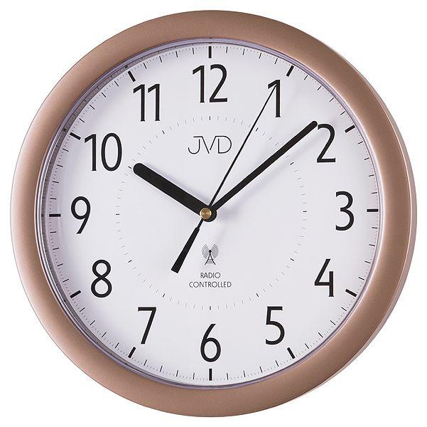 Přesné moderní rádiem řízené hodiny JVD RH612.10