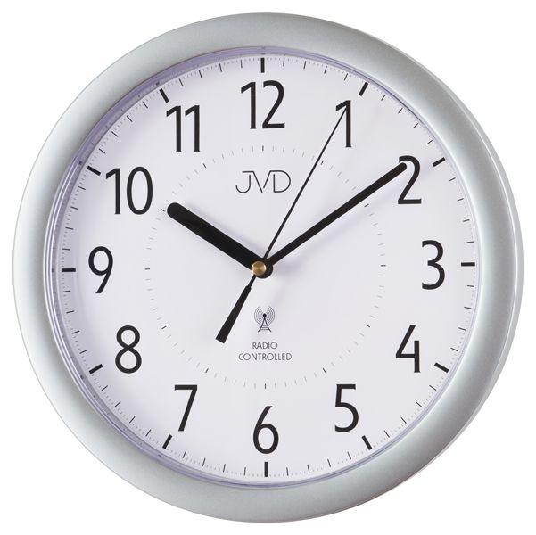 Přesné moderní rádiem řízené hodiny JVD RH612.12
