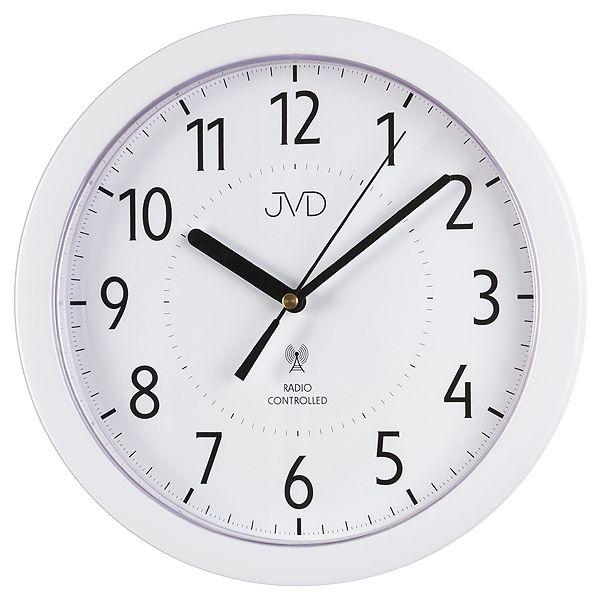 Přesné moderní rádiem řízené hodiny JVD RH612.13