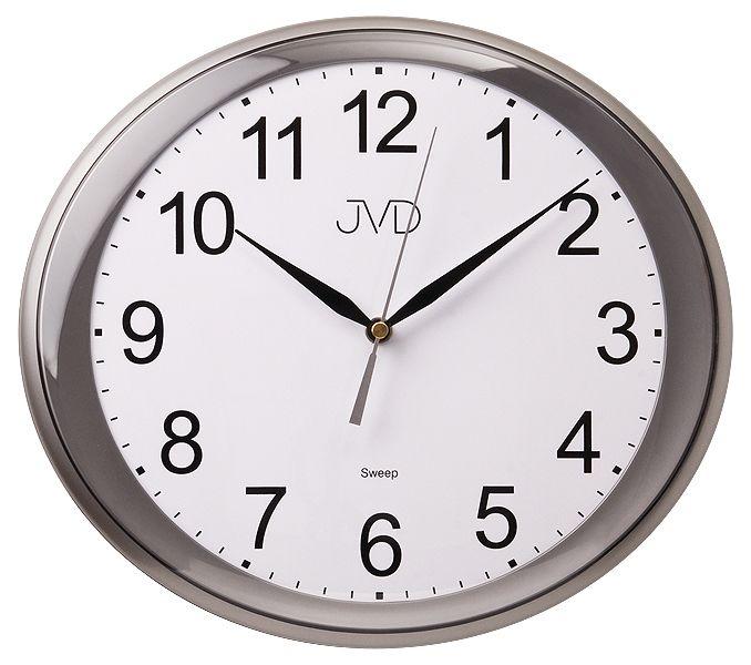 Tiché netikající plynulé hodiny JVD sweep HP664.2
