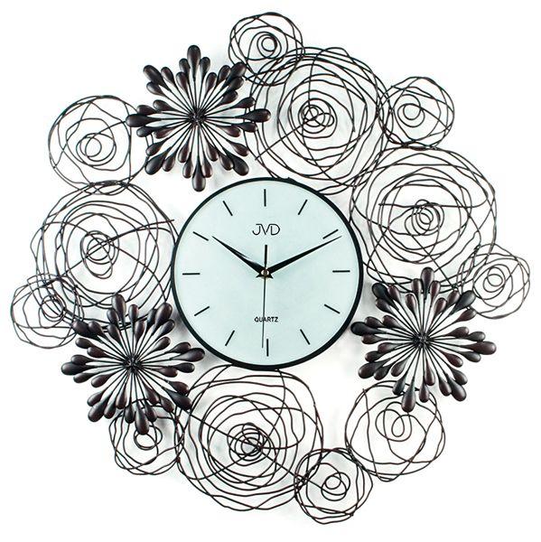 Luxusní velké designové hodiny design JVD HJ68 - průměr 60cm