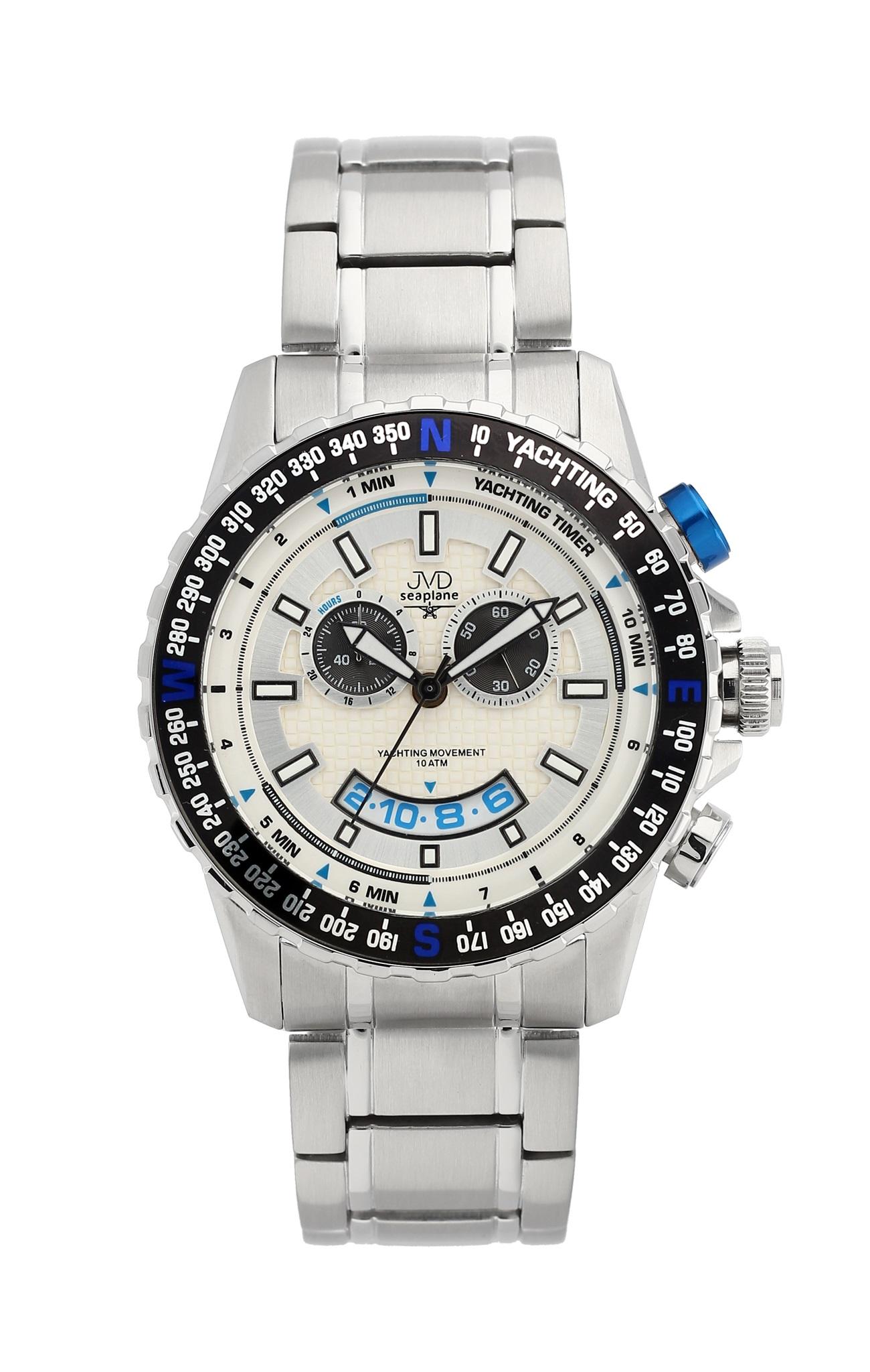 Vysoce odolené sportovní vodotěsné hodinky JVD seaplane J1096.1 - chronograf POŠTOVNÉ ZDARMA!