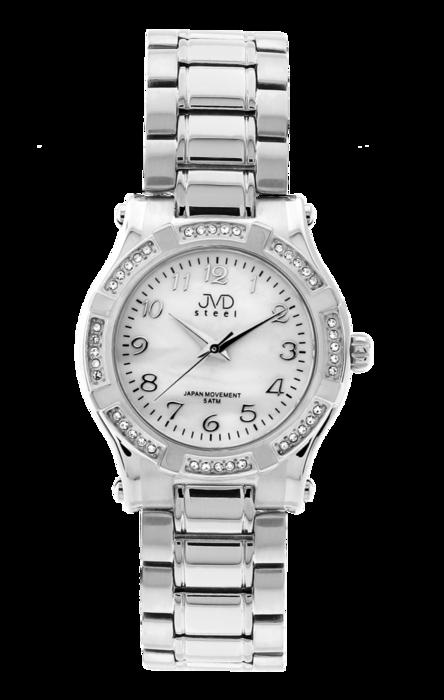 Dámské ocelové módní voděodolné hodinky JVD steel J4128.1 - 5ATM POŠTOVNÉ ZDARMA!