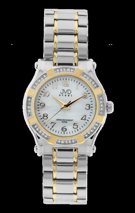 Dámské ocelové módní voděodolné hodinky JVD steel J4128.2 - 5ATM POŠTOVNÉ  ZDARMA! a92aed39ceb