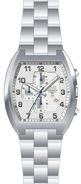 Vodotěsné hranaté ocelové hodinky JVD Seaplane JS20 - 10ATM POŠTOVNÉ ZDARMA!
