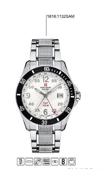 Luxusní pánské vodotěsné hodinky Swiss Alpine Millitary Grovana 1616.1132SAM POŠTOVNÉ ZDARMA! (1616.1132SAM)