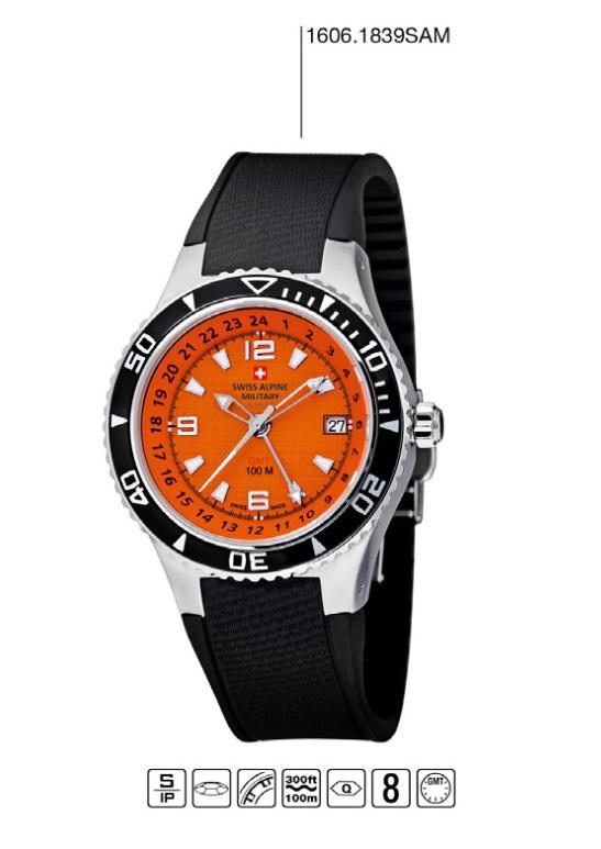Luxusní pánské vodotěsné hodinky Swiss Alpine Millitary Grovana 1606.1839SAM POŠTOVNÉ ZDARMA! (1606.1839SAM)