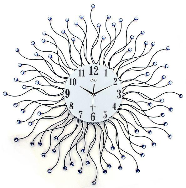 Luxusní kovové obrovské nástěnné designové hodiny JVD HJ19.1 pr. 78cm POŠTOVNÉ ZDARMA!