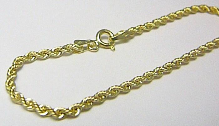 Dámský valisový mohutný zlatý řetízek (VALIS) 45cm 585/1,69gr H306 POŠTOVNÉ ZDARMA!