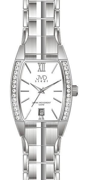 dfcfaeb0ef8 Dámské elegantní hodinky JVD steel J4068.3 s datumovkou 5ATMPOŠTOVNÉ ZDARMA!