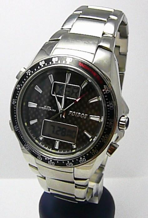 Mohutné pánské luxusní vodotěsné hodinky Foibos 10010 20ATM digitální chronograf POŠTOVNÉ ZDARMA!