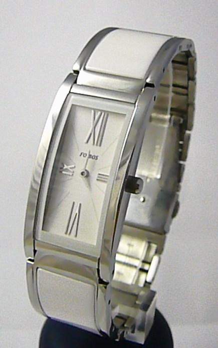Luxusní bílé keramické dámské voděodolné hodinky Foibos 1K81 3ATM POŠTOVNÉ ZDARMA!