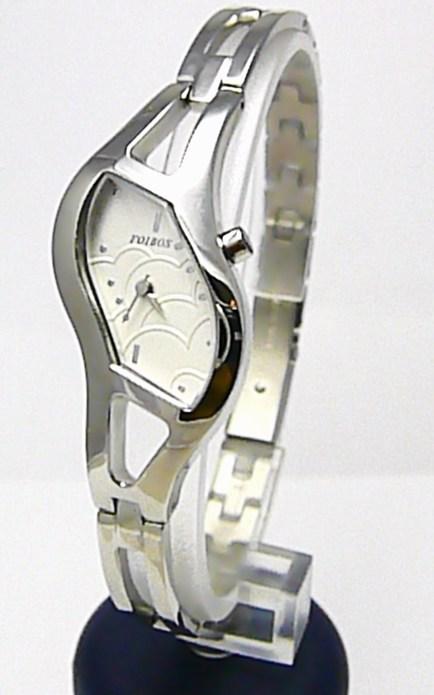 Luxusní dámské elegantní stříbrné hodinky Foibos 21765 3ATM POŠTOVNÉ ZDARMA!