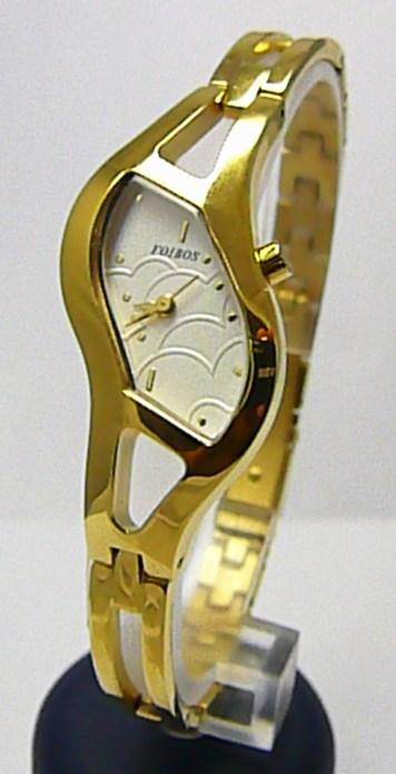 Luxusní dámské elegantní zlacené hodinky Foibos 217651 3ATM POŠTOVNÉ ZDARMA!