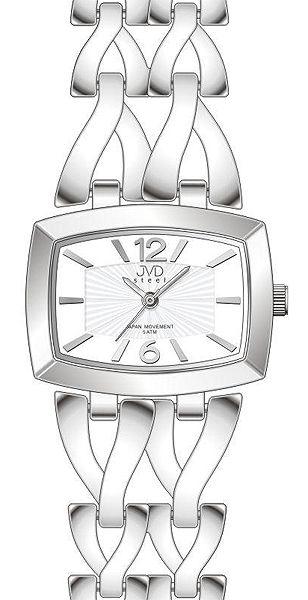 6f99413ce Dámské stříbrné elegantní hodinky voděodolené JVD steel J4070.1 POŠTOVNÉ  ZDARMA!