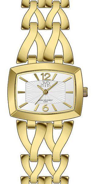 Dámské zlacené elegantní hodinky voděodolené JVD steel J4070.2 POŠTOVNÉ ZDARMA!