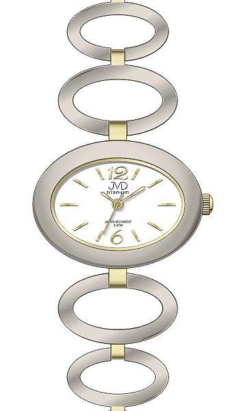 Dámské titanové antialergické hodinky JVD titanium J5023.2 - 5ATMPOŠTOVNÉ ZDARMA!