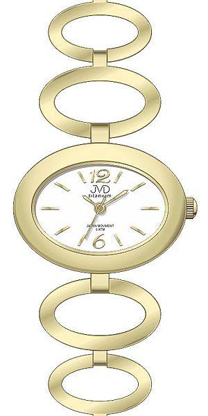 Dámské titanové antialergické hodinky JVD titanium J5023.1 - 5ATM POŠTOVNÉ ZDARMA!