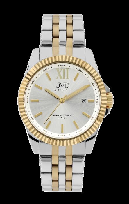 Pánské ocelové nerezové hodinky JVD steel J4129.2 - 5ATM POŠTOVNÉ ZDARMA! 76f54fa888