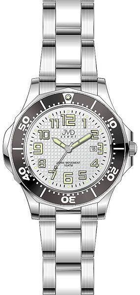 Dámské vodotěsné ocelové hodinky JVD steel J4117.2 do extrémních podmínek POŠTOVNÉ ZDARMA!