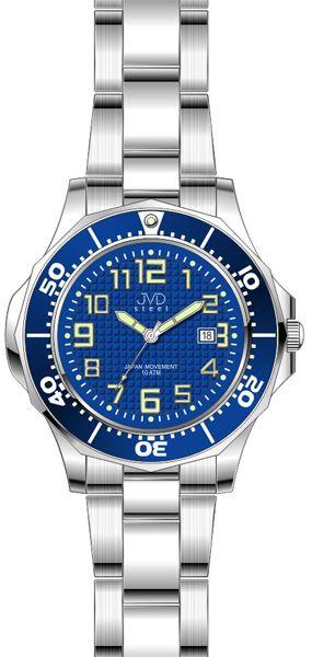 Dámské vodotěsné ocelové hodinky JVD steel J4117.3 do extrémních podmínek 10ATM POŠTOVNÉ ZDARMA!