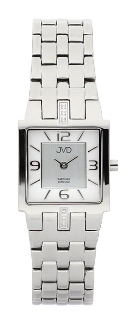 Dámské luxusní hodinky JVD steel J4034.2 s diamanty a safírovým sklem POŠTOVNÉ ZDARMA!
