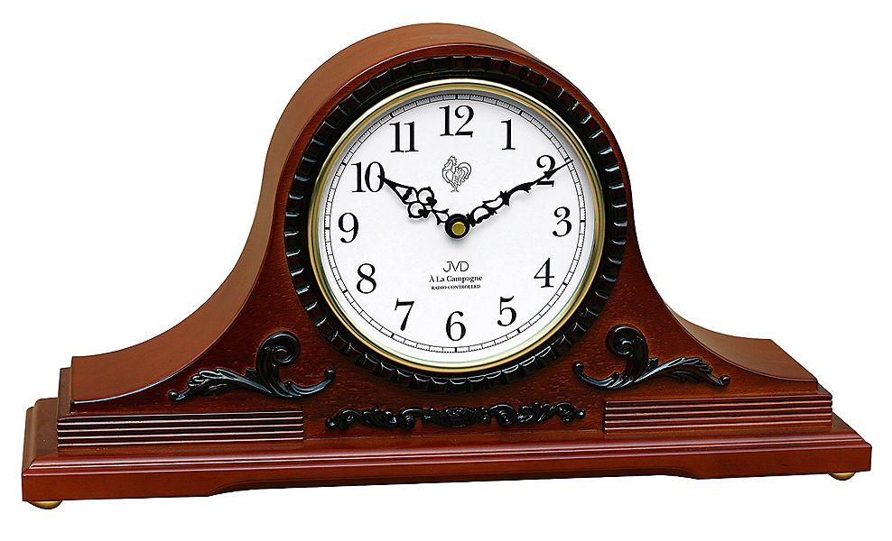Rádiem řízené dřevěné luxusní stolní hodiny JVD NSR11.3 Á La Campagne Westminste POŠTOVNÉ ZDARMA!