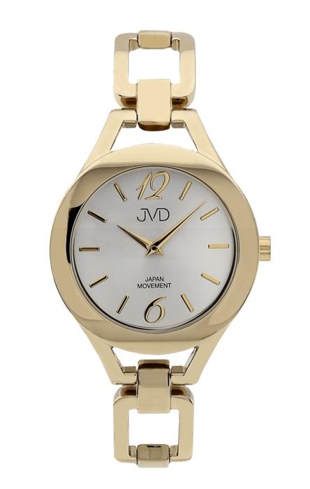 Dámské nerezové voděodolné hodinky JVD JC029.2 s datumovkou POŠTOVNÉ ZDARMA! (POŠTOVNÉ ZDARMA!!)