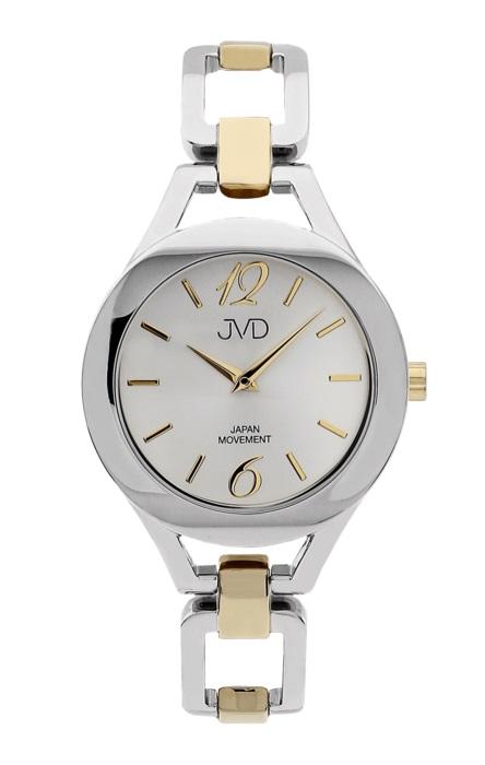 Dámské nerezové voděodolné hodinky JVD JC029.4 s datumovkou POŠTOVNÉ ZDARMA! (POŠTOVNÉ ZDARMA!!)