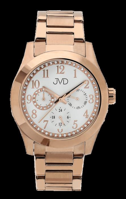 Dámské ocelové voděodolné hodinky JVD JC706.2 - chrnograf 5ATM (POŠTOVNÉ  ZDARMA! a5b36ca0c9a