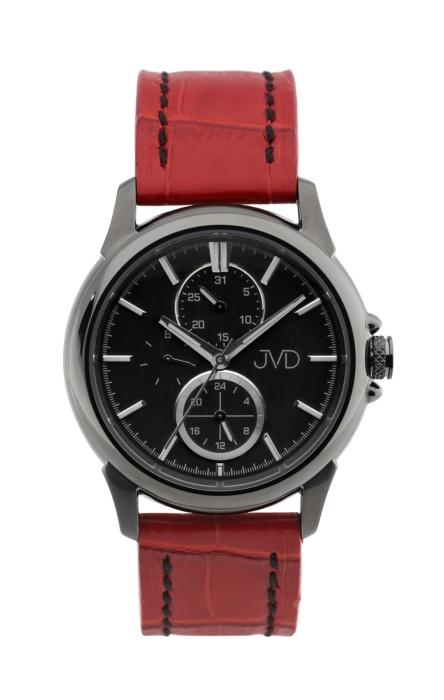 Pánské mohutné ocelové vodotěsné hodinky JVD seaplane JC664.4 - 10ATM - Ipblack POŠTOVNÉ ZDARMA! (POŠTOVNÉ ZDARMA!!)