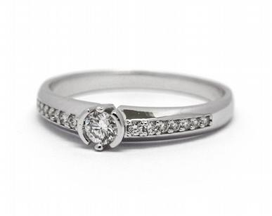 Luxusní zásnubní diamantový prsten přírodní diamant 585/2,07 gr J-22052-13 POŠTOVNÉ ZDARMA! (J-22052-13)