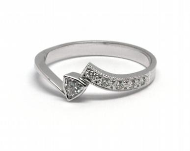 Luxusní zásnubní diamantový prsten přírodní diamant 585/2,13 gr J-21648-12 POŠTOVNÉ ZDARMA! (J-21648-12)