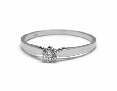Luxusní zásnubní diamantový prsten přírodní diamant 585/1,06 gr J-21253-12 POŠTOVNÉ ZDARMA!