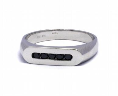 Diamantový prsten s černými diamanty 585/3,25 gr J-21076-12 POŠTOVNÉ ZDARMA!