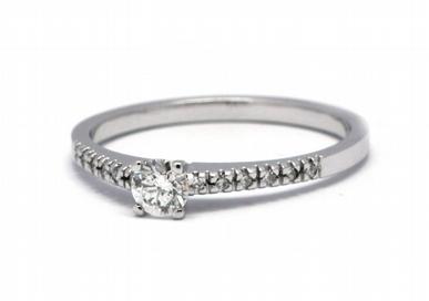 Luxusní zásnubní diamantový prsten přírodní diamant 585/1,89 gr J-21039-12 POŠTOVNÉ ZDARMA!