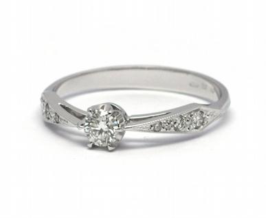 Luxusní zásnubní diamantový prsten přírodní diamant 585/1,74 gr J-21025-12 POŠTOVNÉ ZDARMA! (J-21025-12)