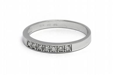 Luxusní diamantový prsten s přírodními diamanty 585/1,87 gr J-20692-12 POŠTOVNÉ ZDARMA!