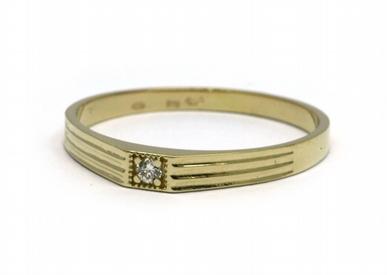 Luxusní zásnubní prsten s přírodními diamanty 585/1,52 gr J-20618-11 POŠTOVNÉ ZDARMA!