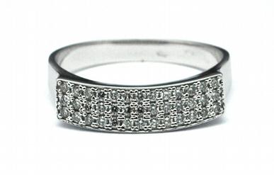 Luxusní diamantový prsten s přírodními diamanty 585/2,59 gr J-19671-11 POŠTOVNÉ ZDARMA!