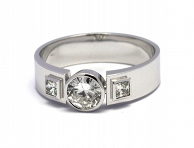 Pánský diamantový luxusní mohutný prsten 585/7,52 gr J-20950-12 POŠTOVNÉ ZDARMA!