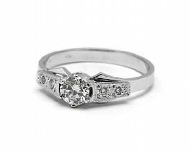 Zásnubní diamantový prsten s přírodními diamanty 585/2,52 gr J-21603-12 POŠTOVNÉ ZDARMA!