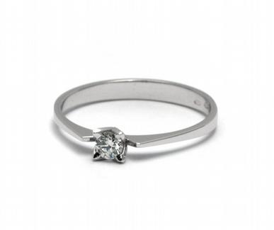 Dámský zásnubní prsten s přírodním diamantem 585/1,31 gr J-21535-12 POŠTOVNÉ ZDARMA! (J-21535-12)
