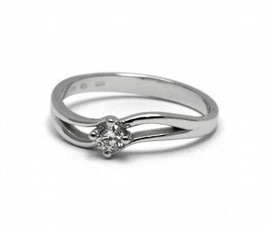 Dámský zásnubní prsten s přírodním diamantem 585/2,19 gr J-21537-12 POŠTOVNÉ ZDARMA! (J-21537-12)