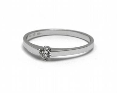 Dámský zásnubní prsten s přírodním diamantem 585/1,23 gr J-21540-12 POŠTOVNÉ ZDARMA! (J-21540-12)